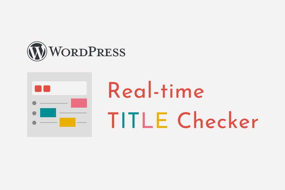 Real-time TITLE Checker